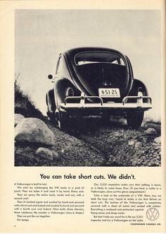 Volkswagen Ad - Short Cuts