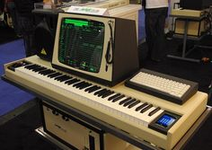 Fairlight CMI... the birth of the sampler as we know it... every eighties' tech geek's dream!
