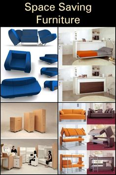 """Most furniture items today are bulky and can take up a lot of floor space. But multi-function furniture can make a huge difference in the """"liveability"""" of a small home. Multifunctional Furniture, Space Saving Furniture, Saving Ideas, Floor Space, Flooring, Cabinet, Storage, Room, Home Decor"""