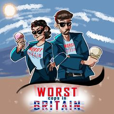 Worst Cops In Britain by on DeviantArt David Tennant, Movies Showing, Movies And Tv Shows, Doctor Who Cast, Broadchurch, Get Shot, Ghostbusters, Character Description, Superwholock