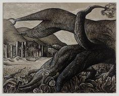 John Craxton, 'Llanthony Abbey' 1942