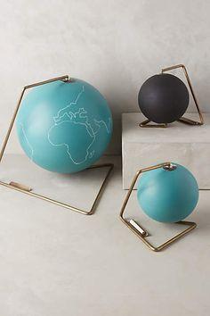 Chalkboard Globe - anthropologie.com