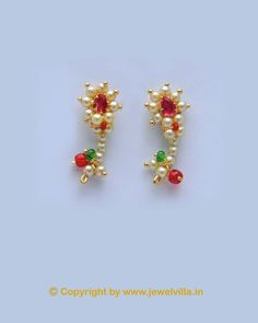 We are offering to our valued customers a fine range of earring.This is very famous Jewellery design from Kolhapur.Ethnic inspires jewellery with a contemporary edge. Its intricate design and exclusive styling will give a unique touch to your look..