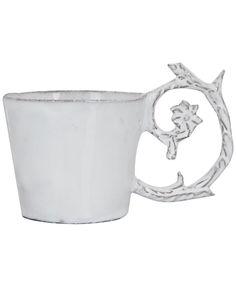 White Emilie Tea Cup, Astier De Villatte