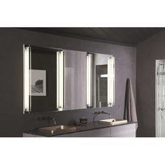 Luxury 3 Way Mirror Cabinet