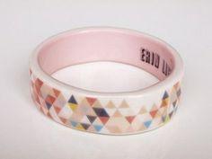 porcelain bangle ++ erin lightfoot by helen