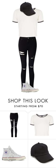 """Casual Outfit"" by altinaxoxo on Polyvore featuring Miss Selfridge, Topshop, Converse and rag & bone"