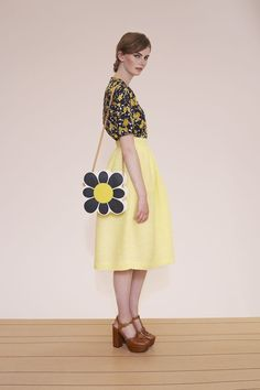 Orla Kiely lookbook for spring summer 15, fashion, geo, pattern, print, style, graphic floral