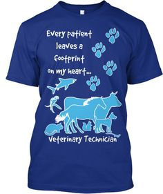 Veterinary Technician T-shirt from TeeSpring