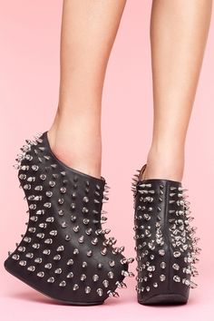 Shadow Stud Platform $258.89  No way in hell I could walk in these, but a girl can dream.
