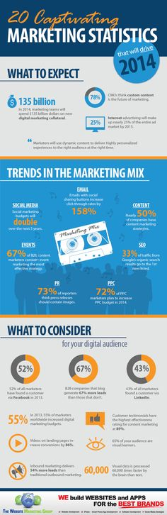 20 Intriguing Marketing Facts and Figures in 2014 (Infographic) - The Website Marketing Group