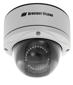 Arecont Vision 10 MP MegaDome AV10255AMIR-H by Arecont Vision. $1199.00. 10 Megapixel, 7fps, 4.7-9mm Auto-Iris Lens, H.264/MJPEG, IR LEDs, Dome IP Camera All-in-One H.264 MegaDome Solution Remote Focus, Remote Zoom and Auto Iris Lens Day/Night with IR LEDs IP66 and Vandal Resistant Dome, IK10 Rated Total PoE Solution (No External Power Required for Heater and IR LEDs) True Day/Night Functionality with Removable IR Cut Filter PSIA and ONVIF Compliance New User Friendly W...