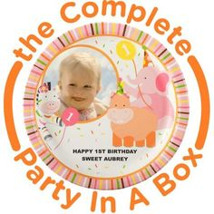Girls 1st Birthday Party Supplies   BirthdayExpress.com
