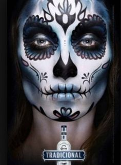 The Coolest Day of the Dead Sugar Skull Makeup Looks   Beautylish   We Heart It