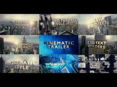 Cinematic Trailer | After Effects template