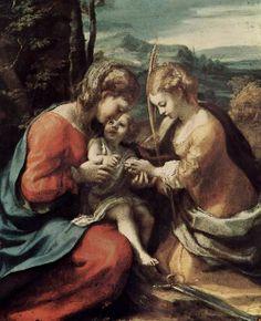 Correggio, Le nozze mistiche di Santa Caterina d'Alessandria