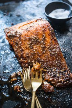 Za'atar Baked Salmon