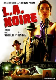 Loved this video game! This is more than a video game, it is an actual neo-noir film!