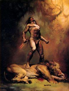 Vallejo, Boris (b,1941)- Tarzan