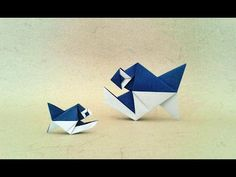 Origami Leafy dance (Alexander Kurth) Tutorial - YouTube