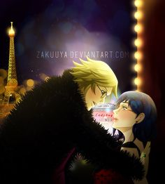 Ladybug et Chat Noir en concert by Zakuuya.deviantart.com on @DeviantArt  Chat Noir and Ladybug / Adrien Agreste and Marinette from Miraculous Ladybug | Ladynoir, Adrienette, Marichat, Ladrien |