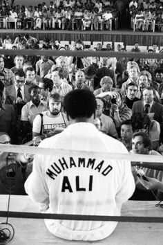 Muhammad Ali...went to his training camp in Pa....good man