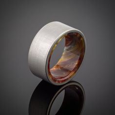 Titanium Men's Wedding Ring in Iced Bronze by spexton on Etsy Wedding Men, Our Wedding, Destination Wedding, Rustic Wedding, Titanium Rings, Wedding Ring Bands, Man Store, Rings For Men, Man Bags