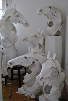 Paper Sculptures by Anna-Wili Highfield - artsnapper