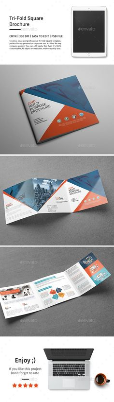 A5 Corporate Business Landscape Brochure Brochures Pinterest - landscape brochure