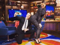 Bravo talk show host Andy Cohen totally slammed the Kardashian sisters when he said that 'they all have had butt implants. Those are fighting words in the Kardashian world. Khloe Kardashian, Kardashian Beauty, Kardashian Kollection, Star Wars, Hip Hop And R&b, Tyga, Kendall And Kylie Jenner, Poses, Show