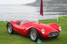 1954 Maserati A6GCS Roadster.