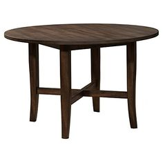 Alpine Furniture Arendal Round Dining Table