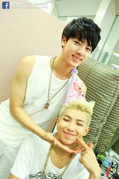 Jin , Rap Monster / Namjoon , BTS ^ Bangtan Boys