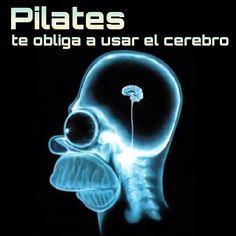 """@inspirahpilates's photo: """"#pilates te obliga a usar el cerebro"""""""