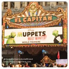 The Muppets Most Wanted Red Carpet Premiere at El Capitan Theatre