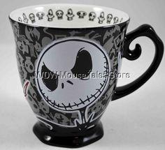 Nightmare Before Christmas Jack Ceramic Mug
