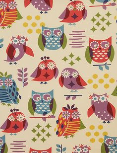 Pindler & Pindler Fabric: Hoot Jewel