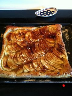 Honey Glazed Apple Tart  (I didn't use pears like the recipe calls for--just apples)