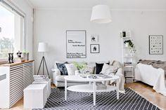 6 trucos para pisos pequeños   La Garbatella: blog de decoración de estilo nórdico, DIY, diseño y cosas bonitas.
