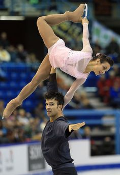 Meagan Duhamel and Eric Radford of Canada,2013 Skate Canada, Pairs costume inspiration for Sk8 Gr8 Designs