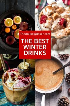 Check out this collection of the best hot drinks for winter! From hot chocolate to cider, from mulled wines to teas, there's something in here to keep you warm and cozy.