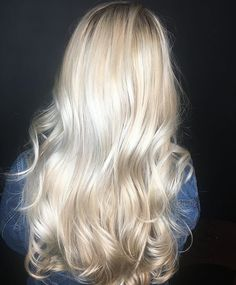 Pretty Really Light Blonde Hair Color