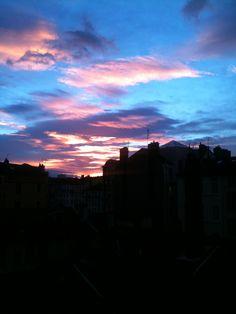 Ciel de décembre Lyon  / Modetico 2013