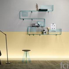 Foulard #Shelf by #FiamItalia starting from £300. Showroom open 7 days a week.   #fcilondon #furniture_showroom_london #furniture_stores_london #fiam_italia_accessories #furnitureaccessories #fiamitalia_furniture #modern_furniture_accessories