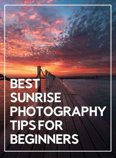 Aug 2019 - Want to better your sunrise photography technique? Here are the best sunrise photography tips for beginners that are sure to help. Beautiful sunrise photography is often synonym of beautiful landscape Sunrise Photography, Landscape Photography Tips, Photography Tips For Beginners, Exposure Photography, Photography Lessons, Photoshop Photography, Photography Tutorials, Digital Photography, Nature Photography