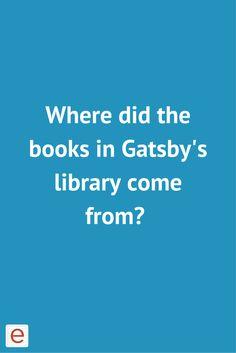 The great gatsby homework help