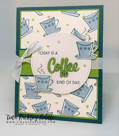 Chocolate Card, Coffee Theme, Coffee Cards, Fancy Fold Cards, Stamping Up, Diy Cards, Homemade Cards, Stampin Up Cards, Cardmaking