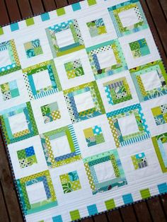 Alice A Quilt Pattern by Red Pepper Quilts por redpepperquilts