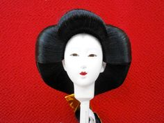 Japanese Woman Doll Head D115 Hina Ningyo for by FromJapanWithLove, $12.00
