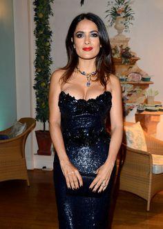 Los escotes más sexys de Salma Hayek